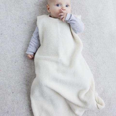 Merinói gyapjú hálózsák - Natúr - 6-9 hónapos (74)