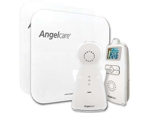 Angelcare 8 csatornás több funkciós légzésfigyelő színes LCD kijelzővel