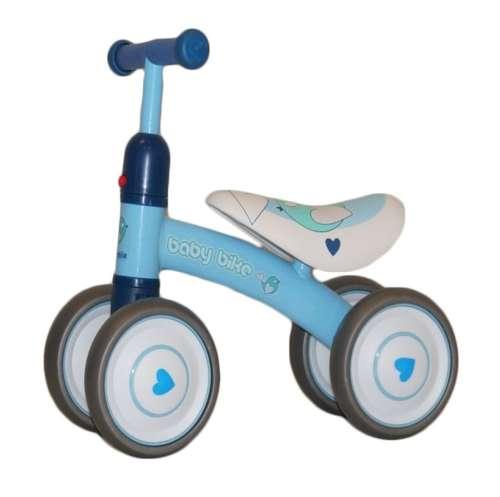 Lábbal hajtható #kék négykerekű bicikli