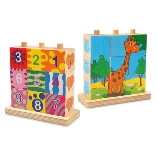 Zsiráfos fa játék