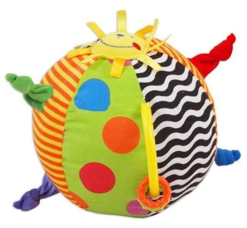 Baby Mix napocskás plüss labda rágókával