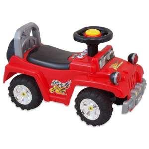 Baby Mix lábbal hajtható zenélő és világító Terepjáró #piros  30265149