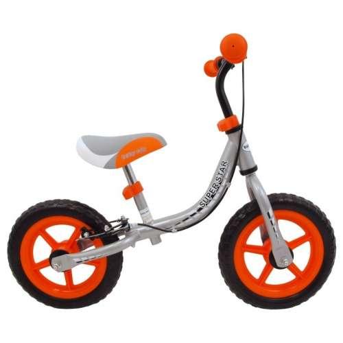 Baby Mix szürke-narancssárga futóbicikli - kézifékes