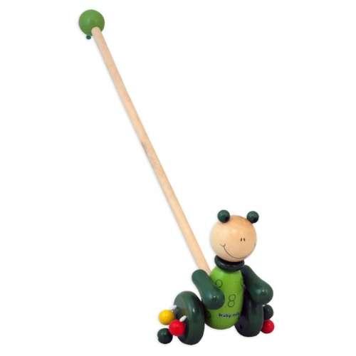 Baby Mix #zöld állatkás fa játék