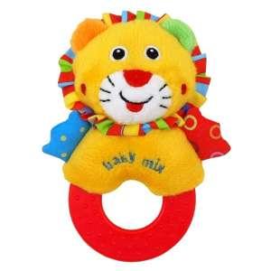 Baby Mix oroszlános plüssjáték rágókával 30265263