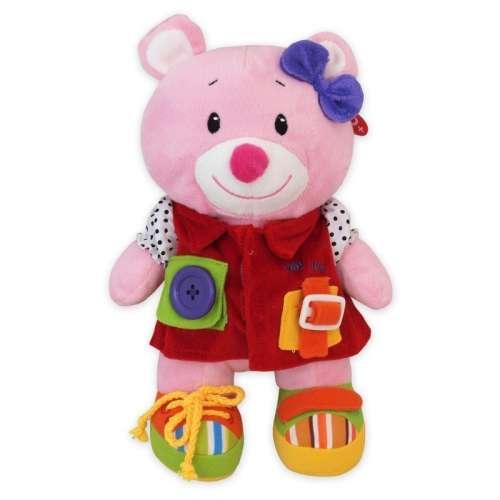 Pink plüssmaci a Baby Mix-től
