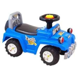 Baby Mix lábbal hajtható zenélő és világító Terepjáró #kék  30265588