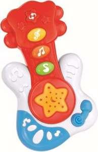 Baby Mix zenélő gitár piros színben 30265609