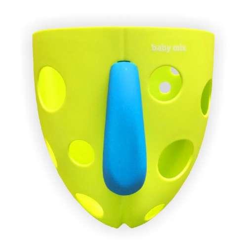 Fürdetőjáték tartó #zöld színben