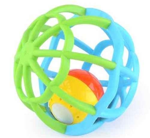 Gömb alakú #kék és #zöld fejlesztő játék