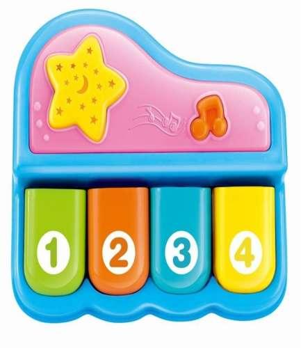 Baby Mix mini kék zongora