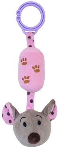 Pink egeres harangjáték babakocsira
