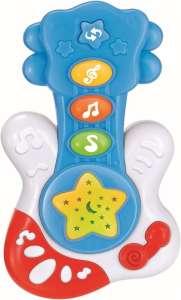 Baby Mix zenélő gitár #kék színben 30265650