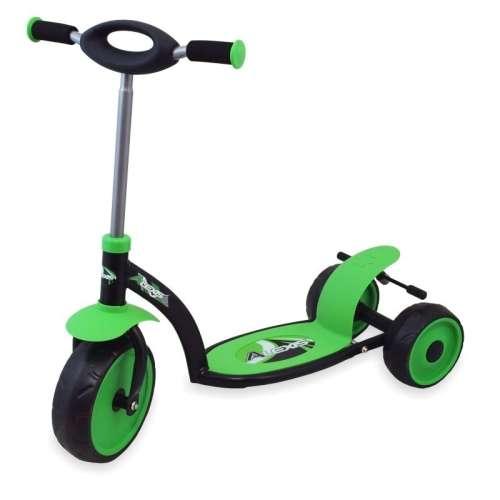 Háromkerekű roller #zöld színben