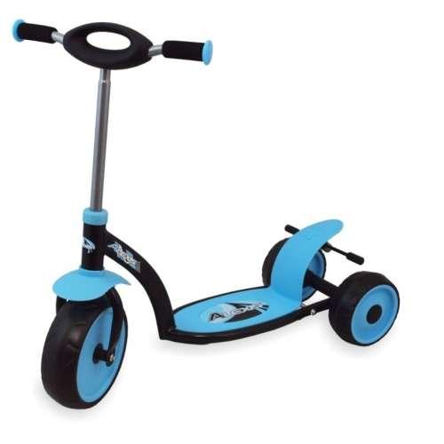Háromkerekű roller kék színben