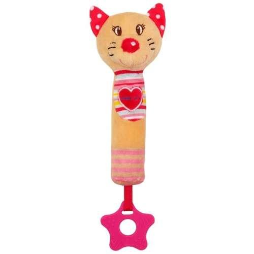 Baby Mix plüss cicás marokfigura rágókával