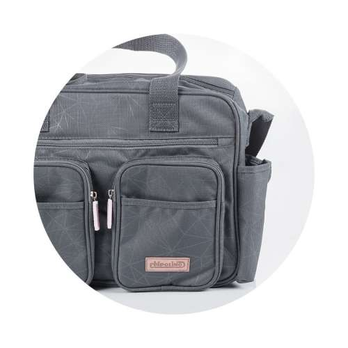 Chipolino pelenkázó táska - Graphite