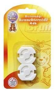 4db Baby Bruin Biztonsági konnektorvédő konnektorzár - a konnektor tovább használható 30265738