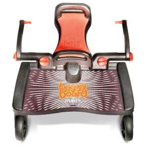 Lascal Maxi+ Testvérfellépő  kihajtható üléssel #fekete-narancssárga 30265745