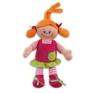 Baby Mix Plüss figura - vidám kislány 30cm 30265752