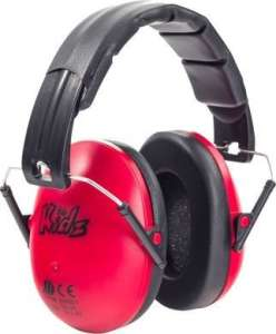 Edz Kidz - gyerek hallásvédő fültok #piros 31303369 Hallásvédő