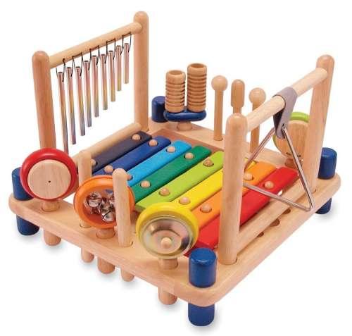 Játékhangszer készlet - Gyerek music center