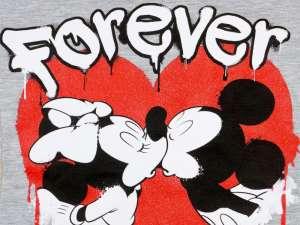 Disney lány Póló - Minnie és Mickey Mouse #szürke