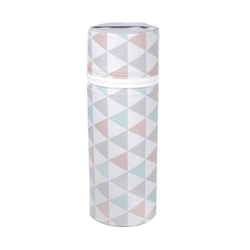 Ceba cumisüveg melegentartó Standard - Háromszög türkíz/narancs