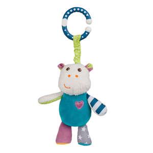 BabyOno plüss rezgő Mickey a víziló -1620 30268106 Mickey Babakocsi, kiságy játék