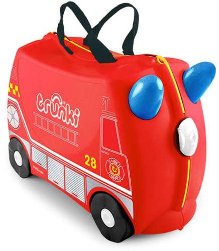 Trunki gyermek bőrönd - Frank a tűzoltó -TRU-0254