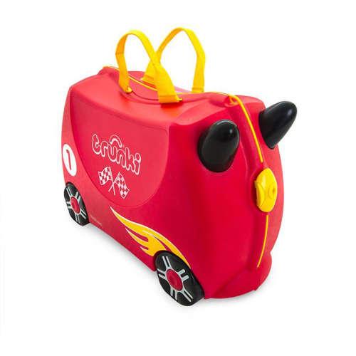 Trunki gyermek bőrönd - Rocco a versenyautó -TRU-0321