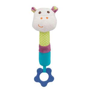 BabyOno plüss sípoló Mickey a víziló -1616 30268118 Mickey Babakocsi, kiságy játék