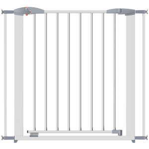 Clippasafe Swing Shut fém Ajtórács 73-96cm #fehér