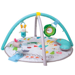 Taf Toys Garden Tummy Time Gym Játszószőnyeg játékhíddal és párnával 30268189