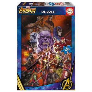 Educa Bosszúállók: Végtelen háború Puzzle 100db-os 30476600
