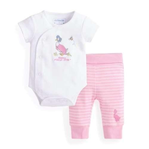 JoJo #rózsaszín Szett újszülötteknek