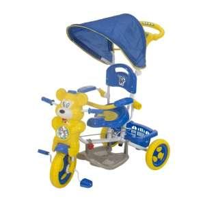 Szülőkormányos Tricikli #sárga-kék 30307715
