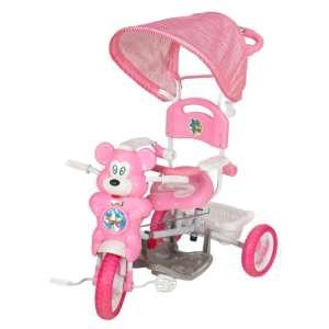 Szülőkormányos Tricikli #rózsaszín 30305940