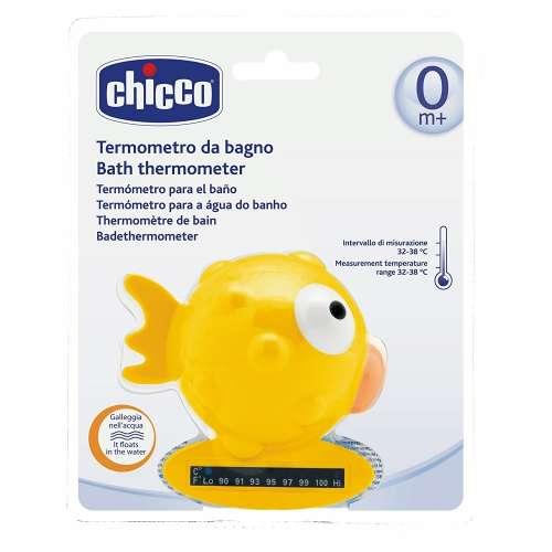 Chicco Halacska vízhőmérő 32-38°C #sárga