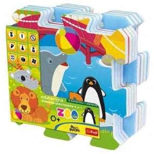 Állatkerti móka szivacs Puzzle 30305100 Szivacs puzzle