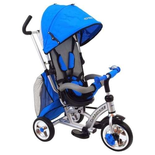 Baby Mix 360 Turbo Tricikli tolókarral és lábtartóval #kék