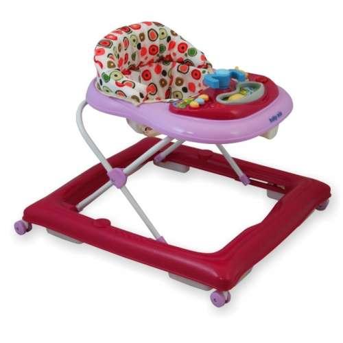 Baby Mix bébikomp pink színben játékokkal