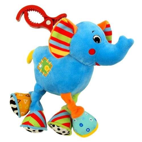Baby Mix elefántos rezgő plüssjáték