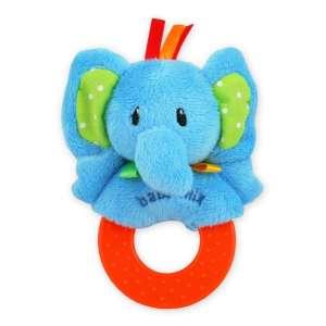 Baby Mix elefántos plüssjáték rágókával 30269494