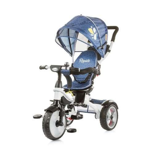 Chipolino Rapido 4in1 Tricikli kupolával #kék 2018