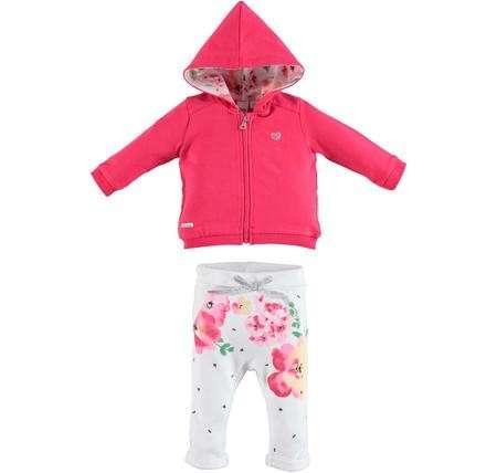 71978f1496 iDO kislány szabadidő szett #pink virágos | Pepita.hu