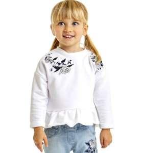 iDO kislány pulóver virág mintával