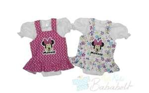Disney Minnie bébi baba ruha és Kombidressz (méret:56-86) 30479414
