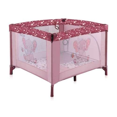 Lorelli Play Station Utazó Járóka #pink Elephant