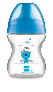 Mam ivócsőrős Cumisüveg 6 hónap#kék 30307506
